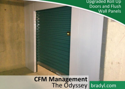 Upgraded Roll Up Doors And Flush Wall Panels