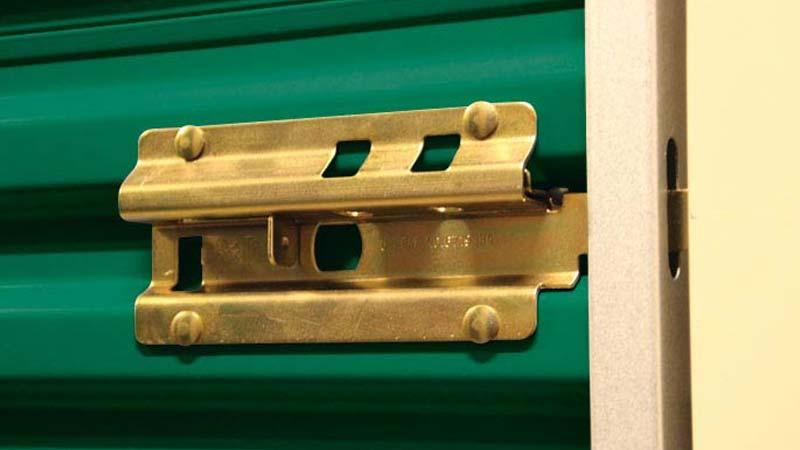 Bradyl Bin Standard Features - Slide Latch