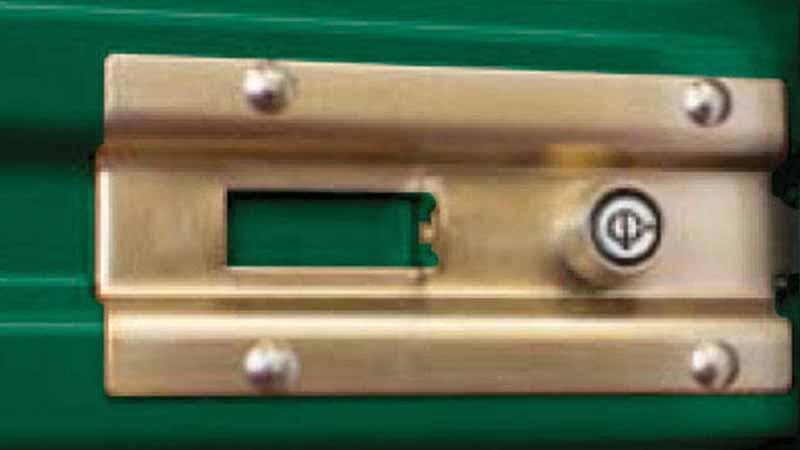 Bradyl Bin Upgrade Options - Core Lock