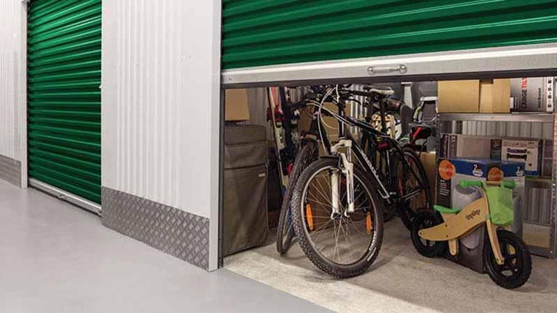Bradyl Bin Upgrade Options - Roll-up Door