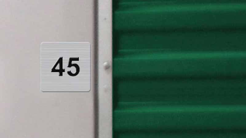 Bradyl Bin Upgrade Options - Unit Number Signage