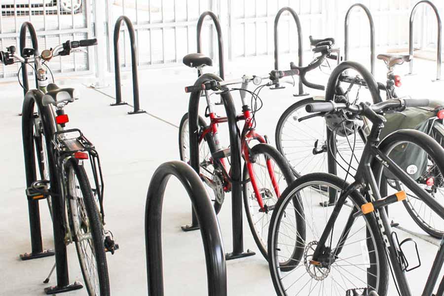 Bradyl Storage Solutions - Horizontal Bike Parking