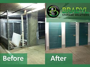 Bradyl Storage Solutions - Case Study - Odyssey Condominium Before and After